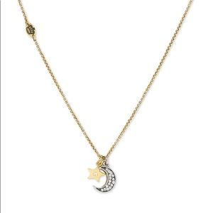 Juicy Couture 'Wish' Moon and Star Necklace